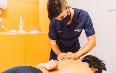 Fisioterapia para una hernia discal en Málaga