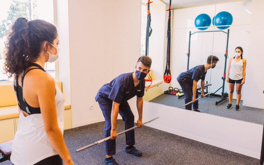 ciática con fisioterapia en Málaga