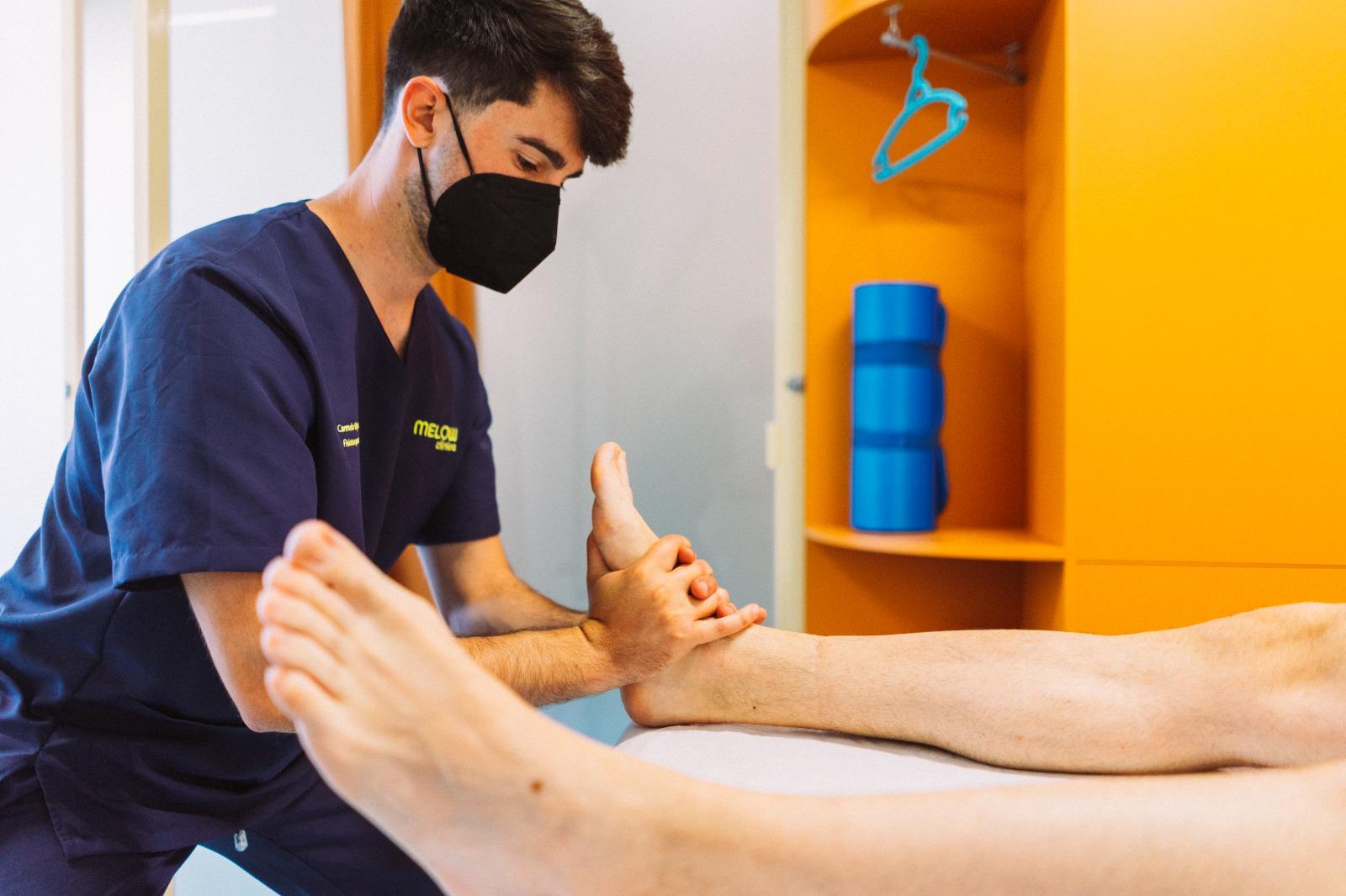 fisioterapia para la rodilla en Málaga